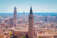 Panorama von Verona Stockbild