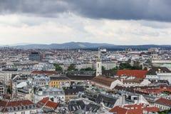 Panorama von Wien Lizenzfreies Stockbild