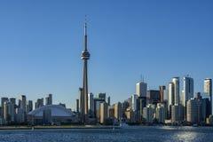 Panorama von Wolkenkratzern von Toronto Lizenzfreie Stockfotos