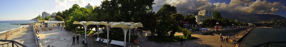 Panorama von Yalta Lizenzfreies Stockfoto