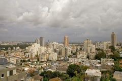 Panorama vor einem Regen Stockbild