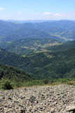 Panorama Vosges Mountains Stock Photography