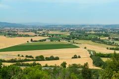 Panorama, Włochy. zdjęcie royalty free