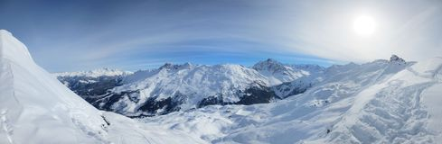 Panorama w Francja zdjęcie royalty free