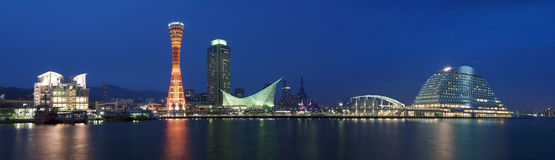 Panorama w Kobe zdjęcie royalty free