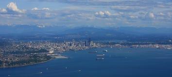 panorama w Seattle fotografia royalty free