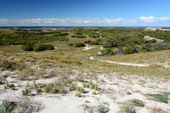 Panorama from Wadjemup lighthouse. Rottnest Island. Western Australia. Australia. Rottnest Island is an island off the coast of Western Australia, located 18 Royalty Free Stock Photo
