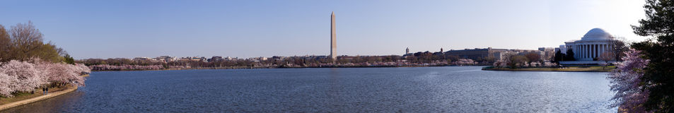 Panorama of Washington DC Stock Photography