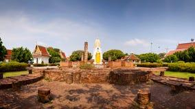 Panorama.Wat Phar Sri Rattana Mahathat. Temple, Phitsanulok in T Stock Image