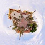 360 Panorama of Wat Phra Chettuphon Wimon Mangkhalaram Ratchaworamahawihan Wat Pho Royalty Free Stock Images