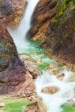 Panorama of waterfall Royalty Free Stock Photography
