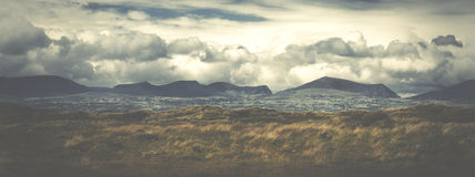 Panorama of the Welsh countryside. Anglesey Wales Europe Royalty Free Stock Photography