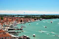Panorama Wenecja Zdjęcia Stock