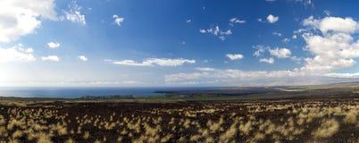 West coast of Big Island, Hawaii Royalty Free Stock Photography