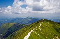 Panorama of Western Tatras Royalty Free Stock Photo