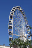 Panorama wheel in Budapest Stock Image
