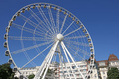 Panorama wheel in Budapest Stock Images