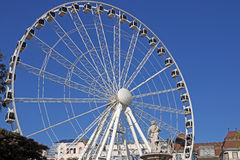 Panorama wheel in Budapest Hungary Royalty Free Stock Images