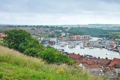 Panorama Whitby Zdjęcia Royalty Free
