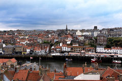 Panorama of Whitby Royalty Free Stock Photo