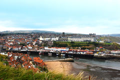 Panorama of Whitby Stock Photography