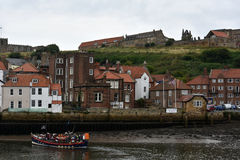 Panorama of Whitby Royalty Free Stock Images