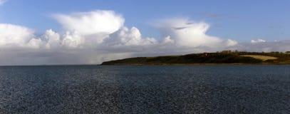 Lemvig, Denmark coastline panorama Stock Photos