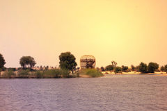 Panorama widok AL-KUDRA jeziorny Dubaj, UAE na 28 2017 Czerwu Fotografia Stock