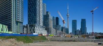 Panorama widok kondominium rozwój Obraz Royalty Free