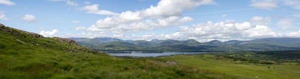 Panorama widok od Kerry sposobu Zdjęcia Royalty Free