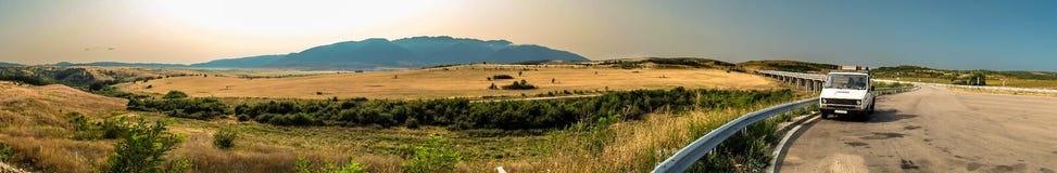 Panorama widok Rila góry Zdjęcia Stock