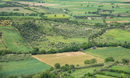 Panorama wieś Fotografia Stock