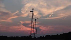 Panorama wieczór niebo Wieczór w drewnach Zmierzch rewolucjonistki niebo zbiory