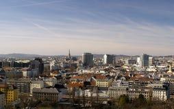 Panorama Wiedeń Zdjęcie Stock