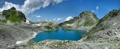 Panorama Wildsee See in der Schweiz lizenzfreies stockfoto