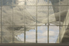 Panorama window Stadium Royalty Free Stock Images