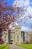 Panorama of Windsor castle and Great park, England Royalty Free Stock Image
