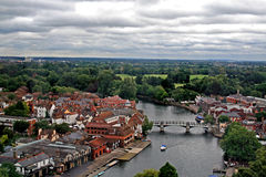 Panorama of Windsor, UK Royalty Free Stock Image