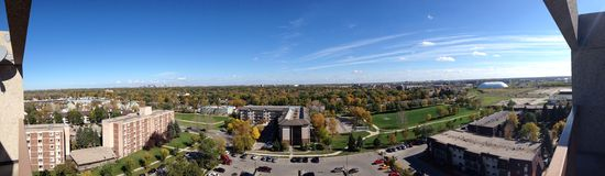 Panorama Winnipeg Stock Afbeelding