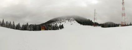 Panorama winter landscape Royalty Free Stock Image