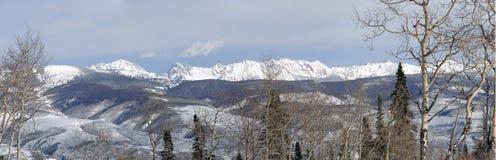 Panorama, Winter snow Royalty Free Stock Image