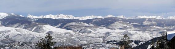 Panorama, Winter snow Royalty Free Stock Photos