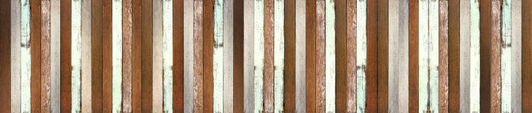 Panorama Wood floor texture background stock images