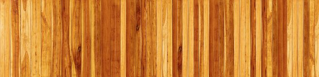 Panorama Wood floor texture background royalty free stock image