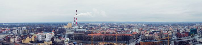 Panorama Wroclaw photos stock