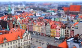 Panorama Wroclaw images stock