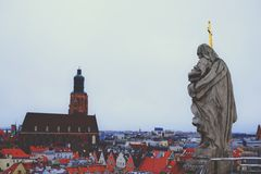 Panorama Wroclaw photographie stock libre de droits