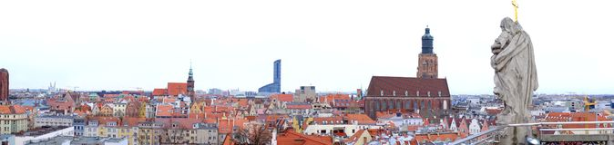 Panorama Wroclaw photo stock