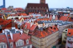Panorama Wroclaw photo libre de droits