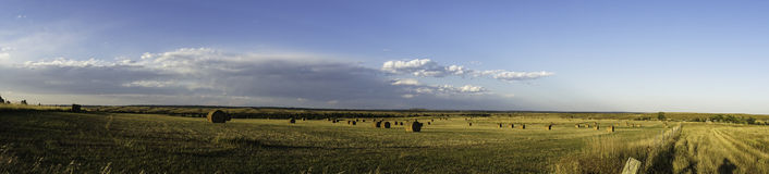 Panorama of Wyoming Landscape Stock Images